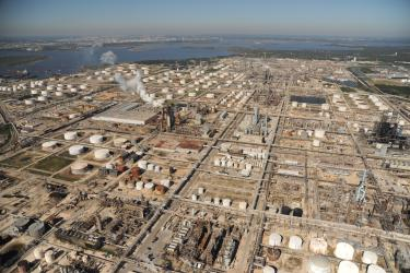 Center for Land Use Interpretation, Still from Landscan: Houston Petrochemical Corridor, 2008