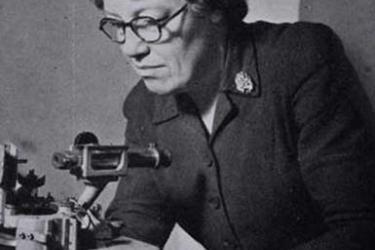 Crystallographer Helen Megaw